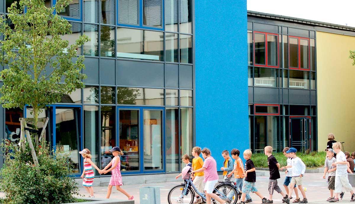 Schule geplant von werk-plan Kaiserslautern