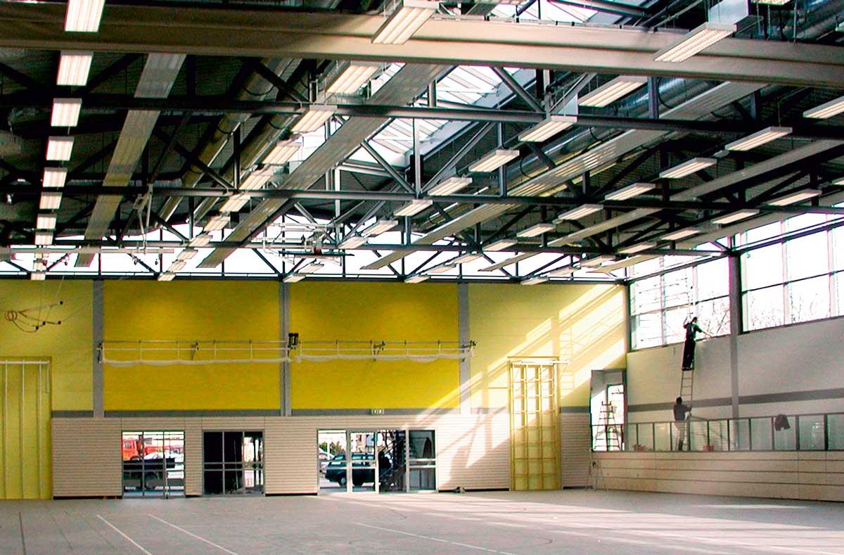 Sport- und Mehrzweckhallen von werk-plan kaiserslautern