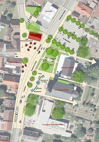 Gemeindeentwicklungskonzept Linkenheim-Hochstetten geplant von werk-plan Kaiserslautern