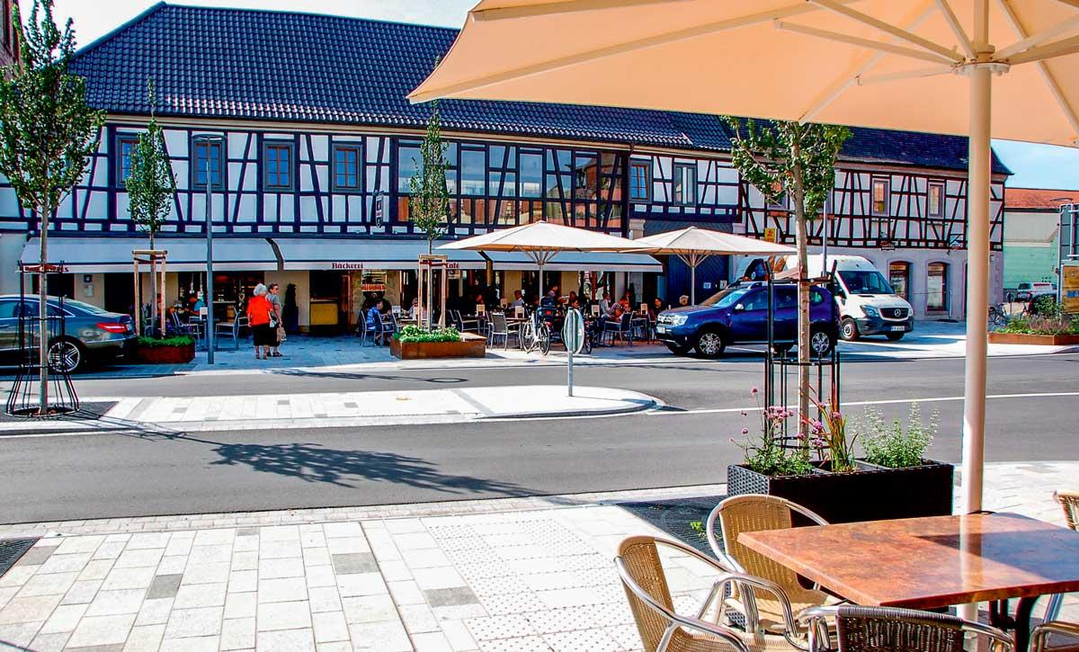 Straßen und Plätze geplant von werk-plan Kaiserslautern