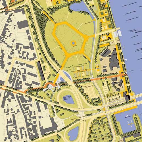 Untersuchungen und integrierte Entwicklungskonzepte in der Stadtplanung von werk-plan Kaiserslautern