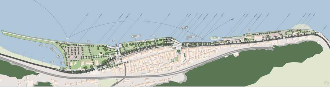 Wettbewerbsbeitrag von werk-plan Kaiserslautern zu Modellstadt St. Goar
